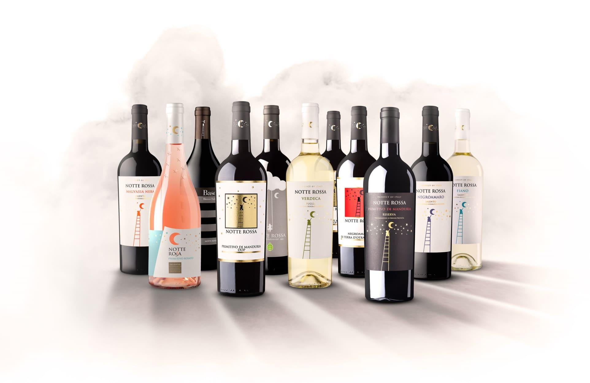 notte rossa collezione vini